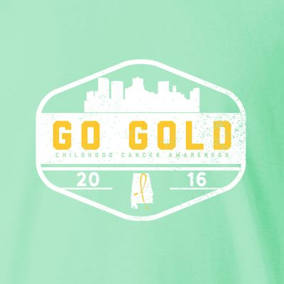 Buy a Go Gold T-Shirt & Support Childhood Cancer Awareness