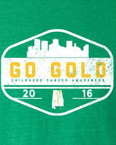 GO GOLD! Adult - Heather Irish Green