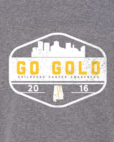 GO GOLD! Kids - Heather Graphite