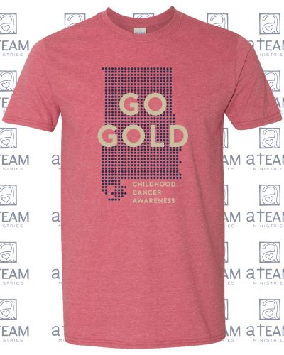 GO GOLD! Red